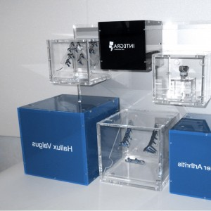 cubes displays image bleue