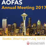 AOFAS : American Orthopaedic Foot & Ankle Society